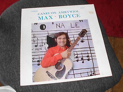 MAX BOYCE Caneuon Amrywiol  LP Record.Cheapest on ebay!! 1971 Ex/Ex++