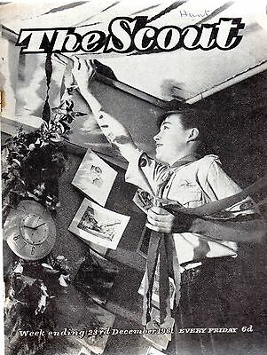 23 DECEMBER 1961 Vintage Magazine The Scout 42922