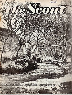 5 OCTOBER 1963 Vintage Magazine The Scout 48018
