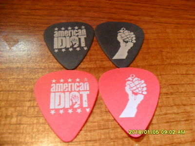 New, Set Of 2, Guitar Picks From The 2013 Broadway Show American Idiot Green Day