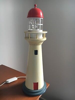 Lighthouse Lamp, Nautical Theme