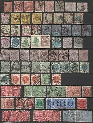 Lot de timbres anciens Angleterre - England - Grande-Bretagne - Great Britain