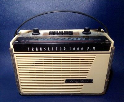 Pizon Bros Collector - Translitor 1000 FM - Radio 1961