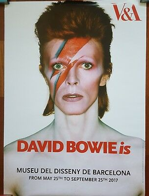 David Bowie poster from Barcelona exhibition is