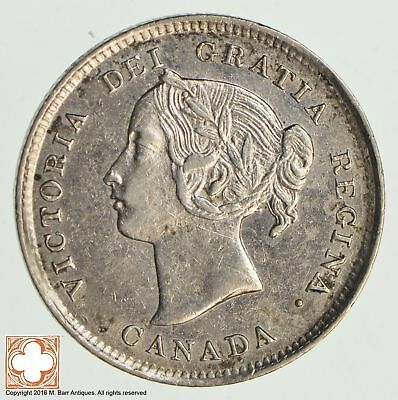1894 Canada 5 Cents *8518