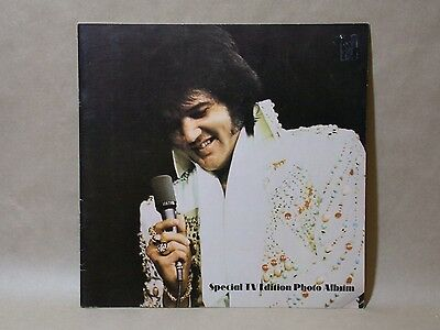 ELVIS PRESLEY Special TV Edition Photo Album Booklet 20 pages nice!