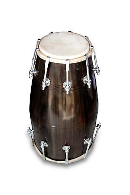 Dholak Drums Handmade Professional~18-Bolt Tuned~Made With Mangowood~Dholki