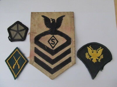 WW2 US armed services badges/patches