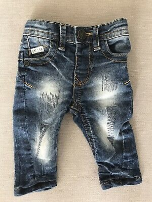 River Island Mini Baby Boys Jeans 0/3 Months