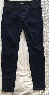 New look Maternity Jeggings, Blue Size 12. Under The Bump Waistband