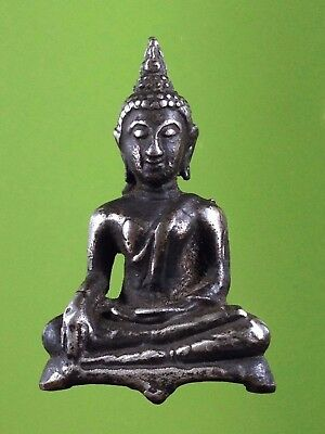 Old Thai Buddha Amulet Statue Amulet Phra Ayutthaya Over 500 Years