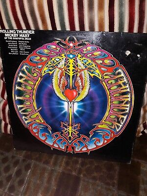 Mickey Hart of the Grateful Dead. Rolling Thunder German Pressing.