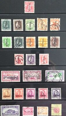 New Zealand Officials, Postage Due & Express delivery 1915-1951 Used
