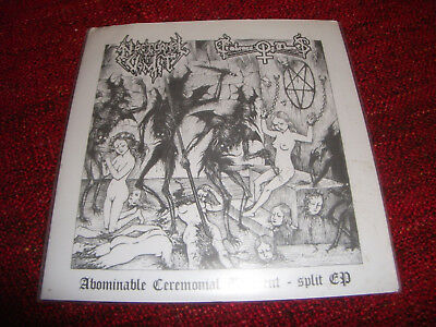 EMBRACE OF THORNS / NOCTURNAL VOMIT - Abominable Ceremonial Torment split EP