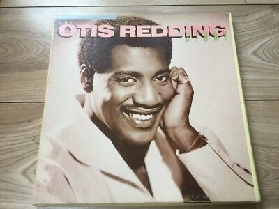 The Otis Redding Story Box Set Of 4 Vinyl Records On Atlantic Label