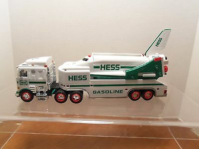 1999 Hess Toy Truck & Space Shuttle with Satellite