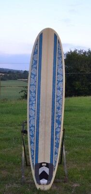 8'0 x 22 x 2 7/8 Surfboard- BAGS, FINS & LEASH INCLUDED