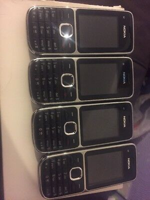 Nokia C2 Mobile Phones Job Lot Working