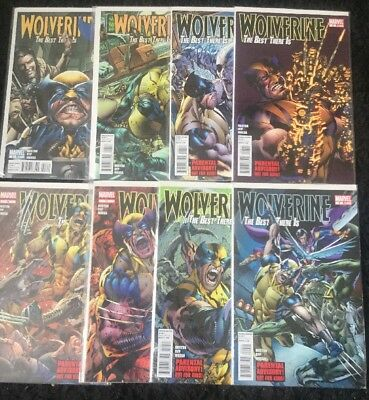 Wolverine : The Best There Is #3-12 : 8 Books Vfn/nm