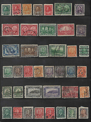 Canada - Admirals to about 1930 - Various Values - Used - Mixed Condition