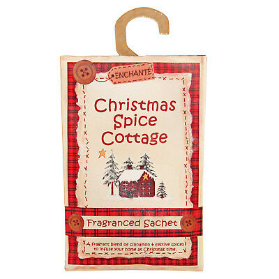 Christmas Spice Cottage Frangranced Sachet - Pack of 3 - Action on Hearing Loss