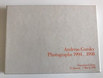 Andreas Gursky Box Of 20 Postcards 1994 - 1998 Serpentine Gallery