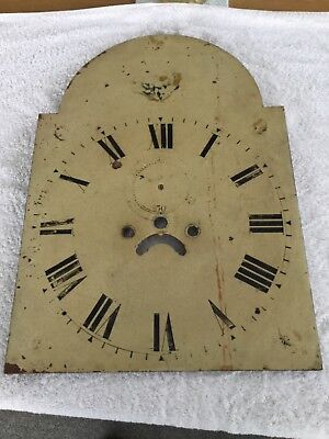 Grandfather Clock Face - Shabby Chic Up Cycling Project