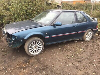 ROVER 220 GTI TURBO project, spares repairs not tomcat gsi very RARE car ***