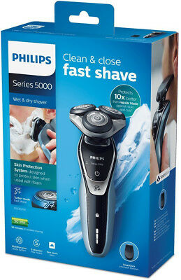 Philips Series 5000 s5530 /06 Wet and Dry Men's Electric Shaver with Turbo Plus
