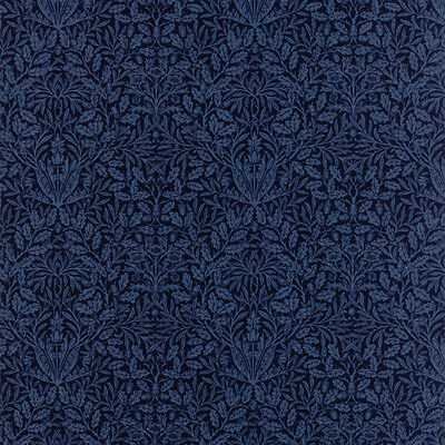 Moda William Morris V and A Acorn 1879 Dark Blue