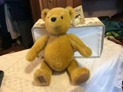 "Merrythought mohair 12"" bear"