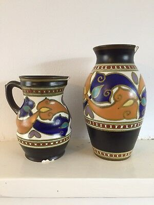 Gouda Vase and Jug Holland