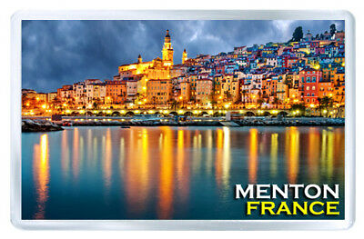 Menton France Mod2 Fridge Magnet Souvenir Iman Nevera