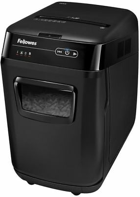 Fellowes Automax 200C Shredder 32L, Cross-Cut highly confidential documents P-4