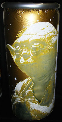 Rare Inflatable Pepsi Star Wars Episode 1 Collector Gold Soda Pop Blow-up Can