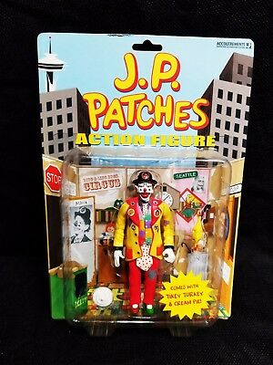 J.p. Patches Action Figure Complete And Mint In Package Oop No Longer Made