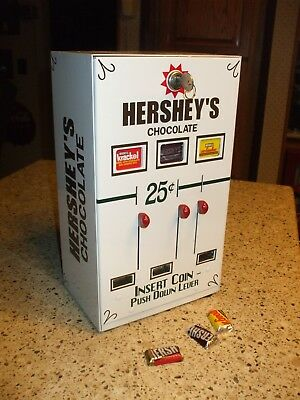 triple Hershey's chocolate theme vending machine  candy arcade diner chocolate