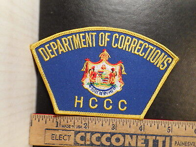 Hawaii Department Of Corrections HCCC Shoulder Patch  107TB.