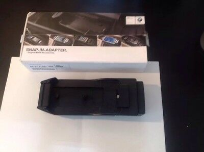 Genuine BMW iphone 5 5s snap in adapter 5 7 series 84  21 2 351 307 Boxed