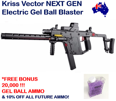 Kriss Vector Gel Ball Blaster Gel Ball Gun Top 10 Trending Boys Xmas Gift