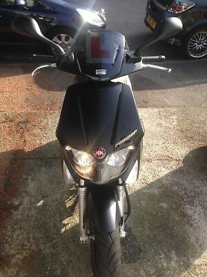 Gilera Runner st 125 Black Soul, 66 plate, CAT C, Good Condition, MOT, +Extras