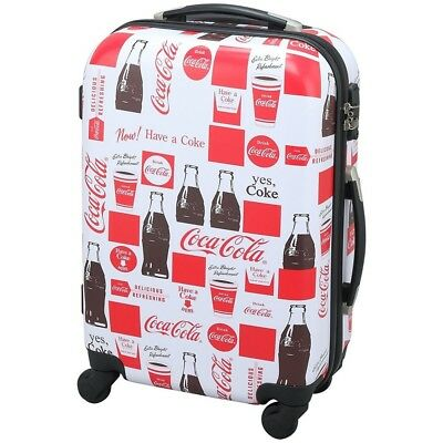 NEW Coca-Cola Carry Bag suitcase Con tour Bottle White 34L from Japan