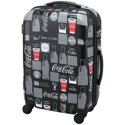 NEW Coca-Cola Carry Bag suitcase Con tour Bottle Black 34L from Japan