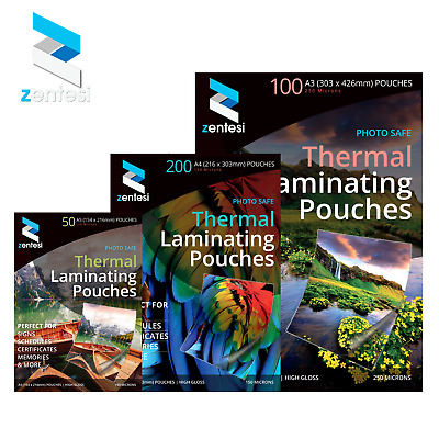 Laminating Pouches Laminating Sleeves Laminating Pockets Sheets A3 A4 A5