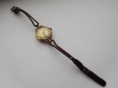 Ladies watches, two wind up non working watches for spares or repairs