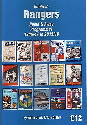 Guide to Rangers Home & Away Programmes 1946/47 to 2015/16