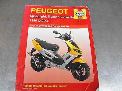 Peugeot Speedfight Haynes Workshop Manual