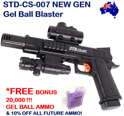 Std-Cs-007 Gel Ball Blaster Gel Ball Gun Top 10 Trending Boys Xmas Gift