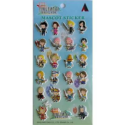 Square Enix Final Fantasy Brigade Mascot Sticker