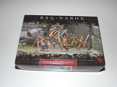 CONFRONTATION RAG'NAROK RAGNAROK RACKHAM Etat Major d'Avagddu  as new